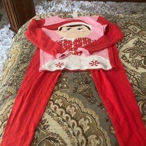 Elf Pajama Set